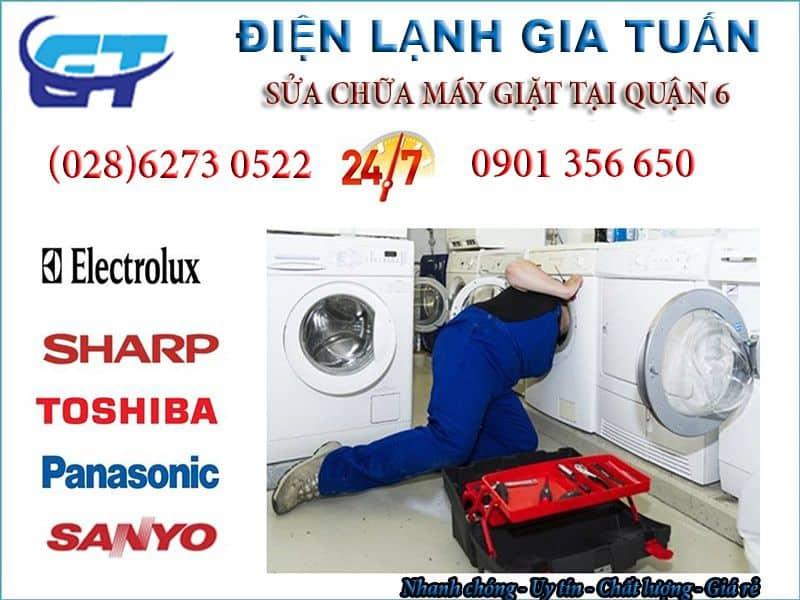 Sửa máy giặt quận 6