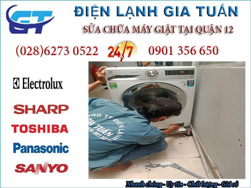 Sửa máy giặt quận 12