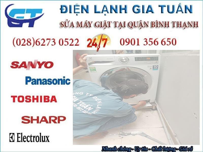 sửa máy giặt quận Bình Thạnh