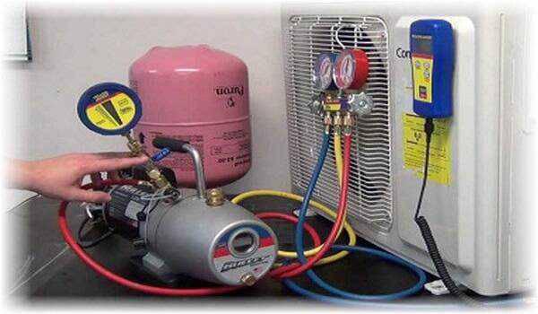 các loại gas sử dụng cho máy lạnh