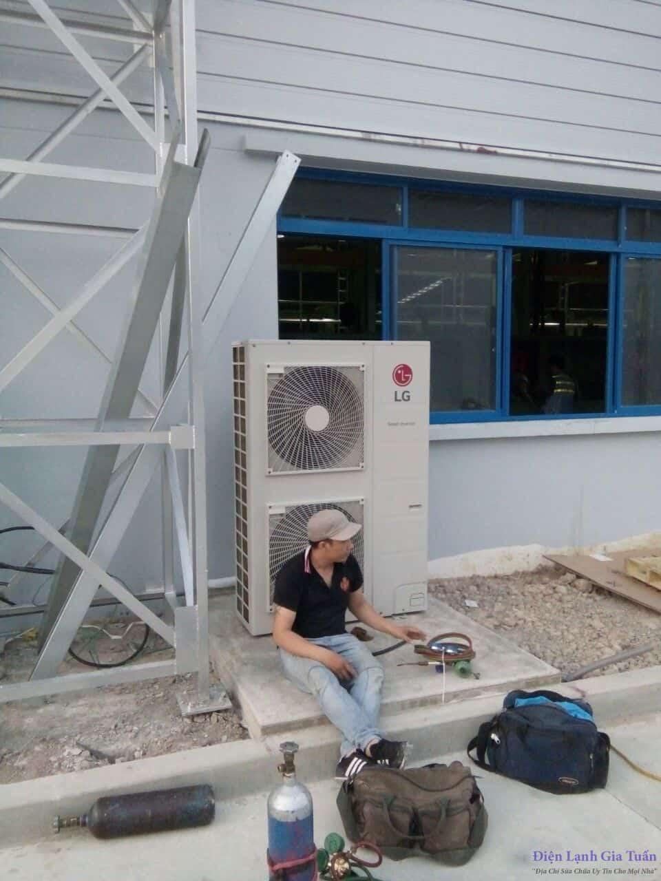 Sửa máy lạnh tại nhà (Anh 1)