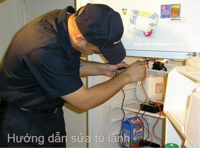 Hướng dẫn sửa tủ lạnh