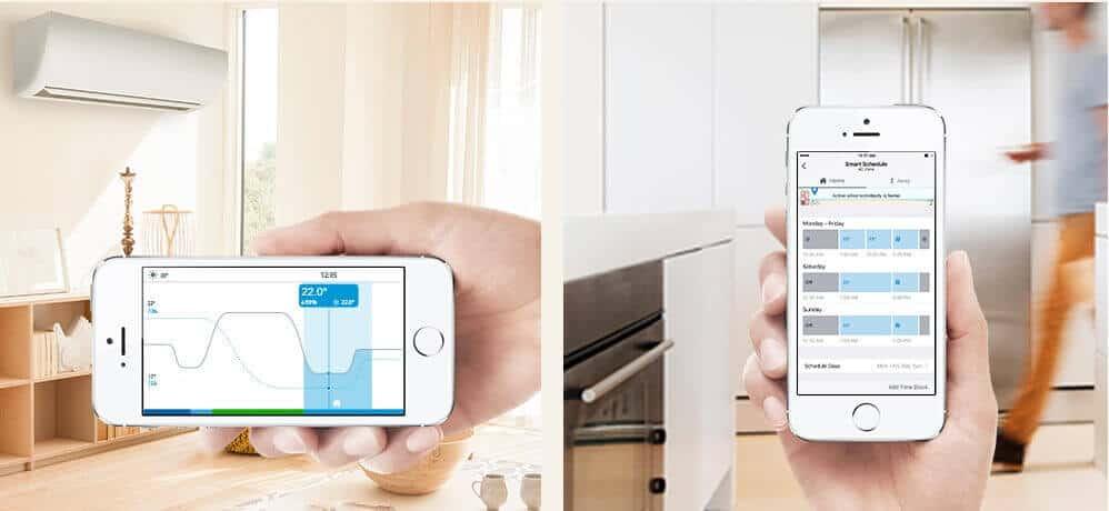Tado điều khiển điều hòa bằng điện thoại