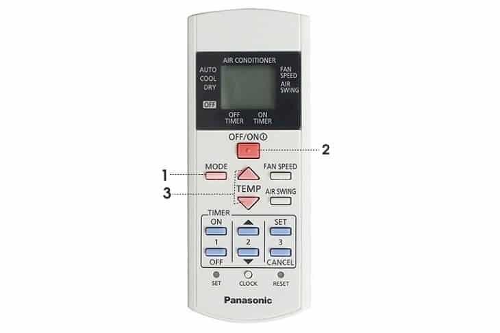 Cách sử dụng remote máy lạnh Panasonic(Ảnh 3)