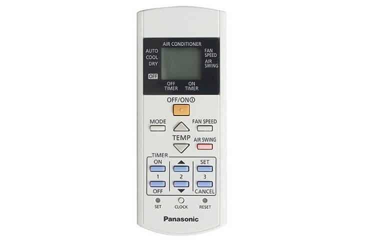 Cách sử dụng remote máy lạnh Panasonic(Ảnh 4)