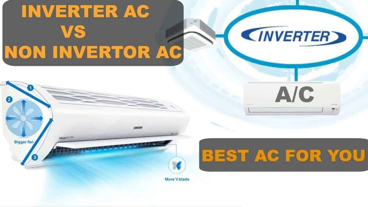 inverter và máy lạnh thường