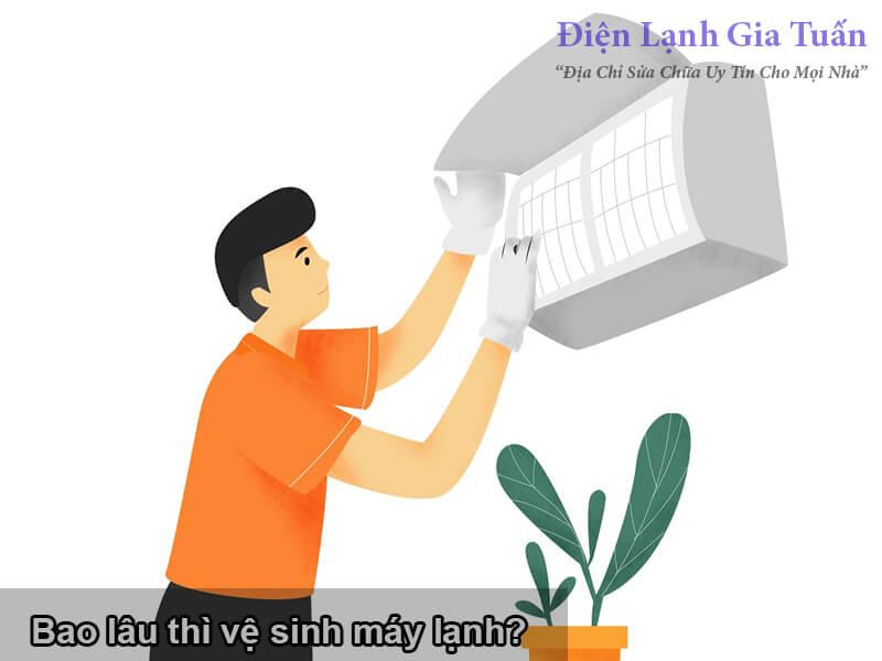 bao lâu thì vệ sinh máy lạnh?