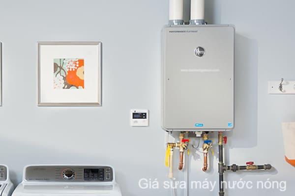 giá sửa máy nước nóng